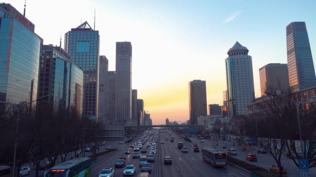 Traffic of Beijing Central Business District