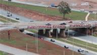 LS Traffic on a highway near Brasilia / Brasilia, Brazil