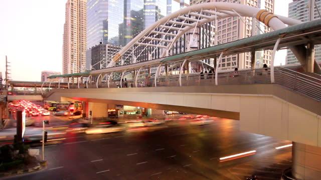 Verkehr in Bangkok, thailand