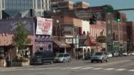 MS, Traffic on Broadway, Nashville, Tennessee, USA