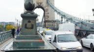 Traffic On Budapest Chain Bridge