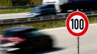 Traffic on German Highway