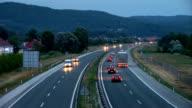HD: Traffico su autostrada