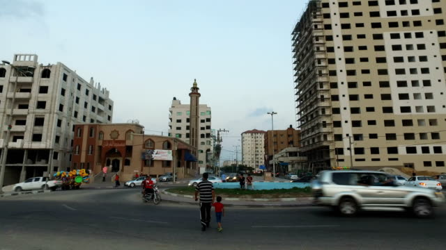 Traffic on the streets of Gaza City Gaza on July 21st 2017 For the past ten years Gaza residents have lived with constant power shortages in recent...