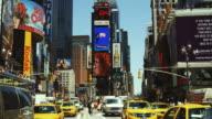 MS, Traffic on Times Square, Manhattan, New York City, New York, USA