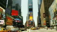T/L, ZO, WS, Traffic on Times Square, Manhattan, New York City, New York, USA