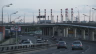WS Traffic outside Moscow Heating Network 'Mosenergo' / Moscow, Russia