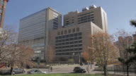 LA Traffic passing in front of Hahnemann Hospital / Philadelphia, Pennsylvania, United States