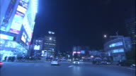 Traffic streams through Akihabara Electric Town  and toward Manseibashi in Tokyo.