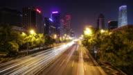 Traffic through city