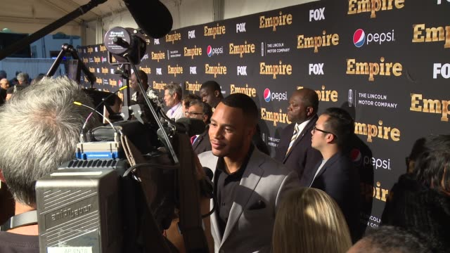 Trai Byers at EMPIRE Season Two Premiere at Carnegie Hall on September 12 2015 in New York City