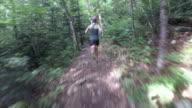 Trail running - Fit female