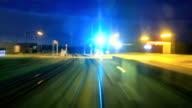 Train Driver at night