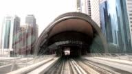 FAST MOTION: Train in Dubai