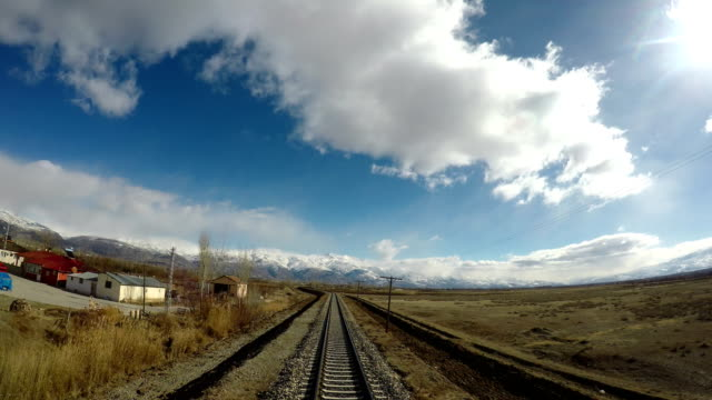 Train journey at Eastern Anatolia
