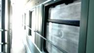 Train journey - indoor