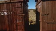 CU ZO Train moving across landscape/ Colorado