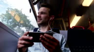 Train phone media