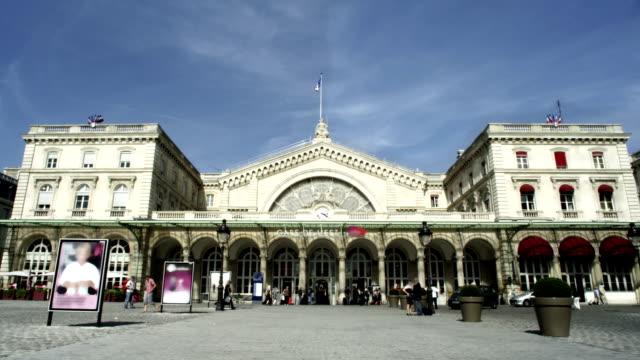 Train station in Paris, France