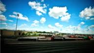 Train Yard time lapse