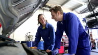 Trainee Mechanic in Workshop