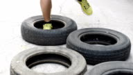 Training with old tires