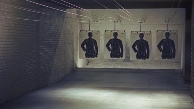 MS PAN Trainnes firing on  row of figure targets / Washington D.C., United States