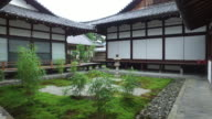 Tranquil garden of a Japanese Temple