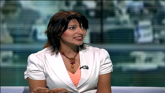 London GIR INT Azmina Govindji STUDIO interview SOT discusses dangers of trans fats in foodstuffs and raised risk of heart disease and importance of...