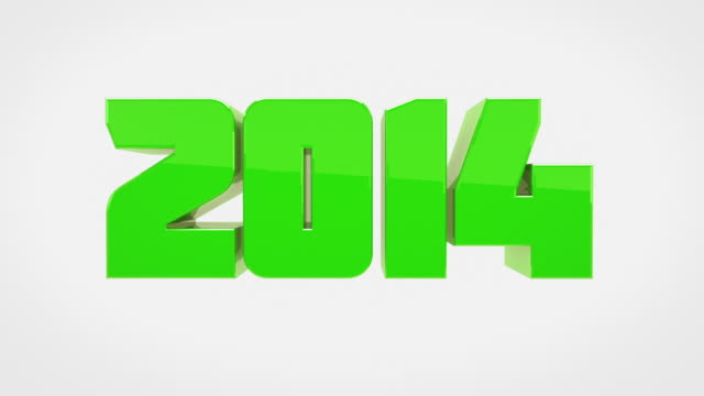 Verwandelt 3D Worte Animation - 2013, 2014 (mit Luma/Alpha)