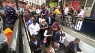 Transport Commissioner for London Mike Brown interview T05081502 / TX Oxford Circus EXT **Brown LIVE STUDIO interview partly overlaid SOT** Various...