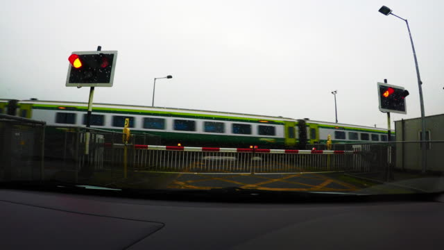 4K Transportation - Railroad Level Crossing