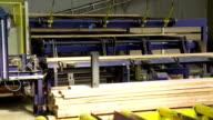 Transport stützen auf Lumbermill Produktion