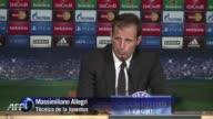 Tras 12 anos de espera para clasificar la Juventus paso este miercoles a la final de la Liga de Campeones y su tecnico Massimiliano Allegri espera...
