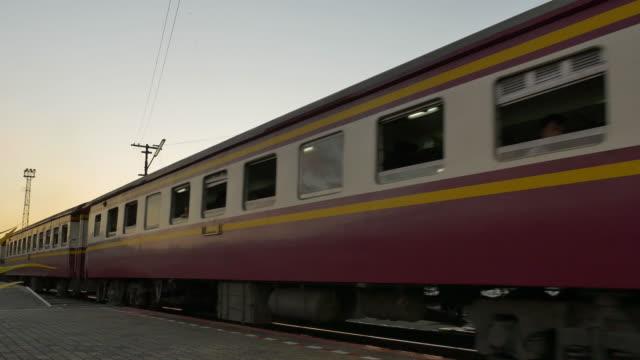 Travel by train.(4K)