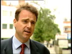 Travel chaos / British inequality ITN London CMS Edward Funnell interview SOT CMS Vox pops SOT