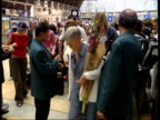 Travel chaos / British inequality NEWS AT TEN PAUL DAVIES ITN ENGLAND London Paddington Station CMS Passengers having thei rail tickets checked as...