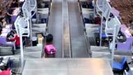 HD: Traveler at Airport Departure Terminal