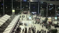 Traveler crowd at Airport