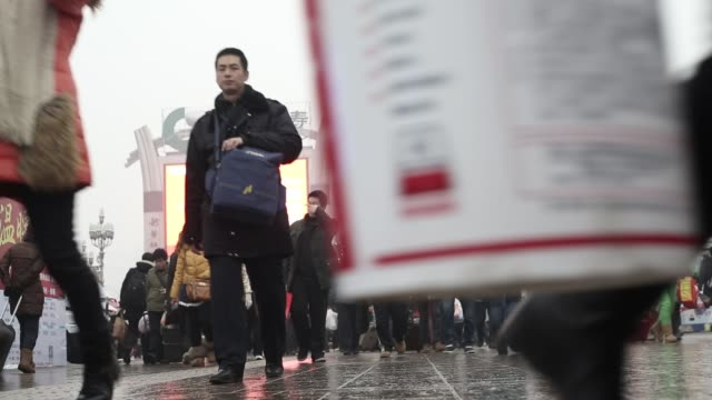 Travelers in Beijing flock to the main train station ahead of Chinese New YearFebruary 4 2013 In the run up to the Lunar New Year millions of Chines...