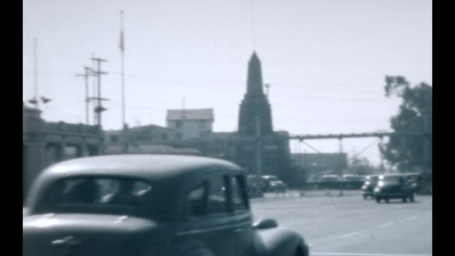 Traveling through the border to Mexico in the early 1940's