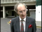 Travellers and gypsies proposed law change London Sir George Young MP intvwd SOF Public fedup with travellers moving on to private land having to pay...