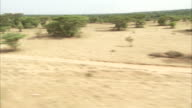 Travelling through the Ethiopian plains. Available in HD.