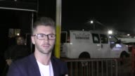 INTERVIEW Travis Wall talks about winning the Icon Award outside Avalon Nightclub in Hollywood in Celebrity Sightings in Los Angeles