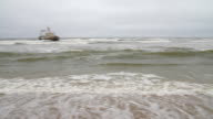 PAN-Fangschiff Schiffbruch im Namibische Coast