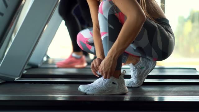 Laufband-workout.