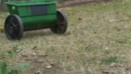 Treating a Lawn