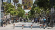 Tree Lined Third Street Promenade, Santa Monica
