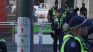 Tres personas murieron y otras 20 resultaron heridas el viernes al ser embestidas por un automovil que arremetio contra transeuntes en el centro de...