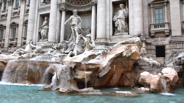 Trevi Fountain in Rome (HD)